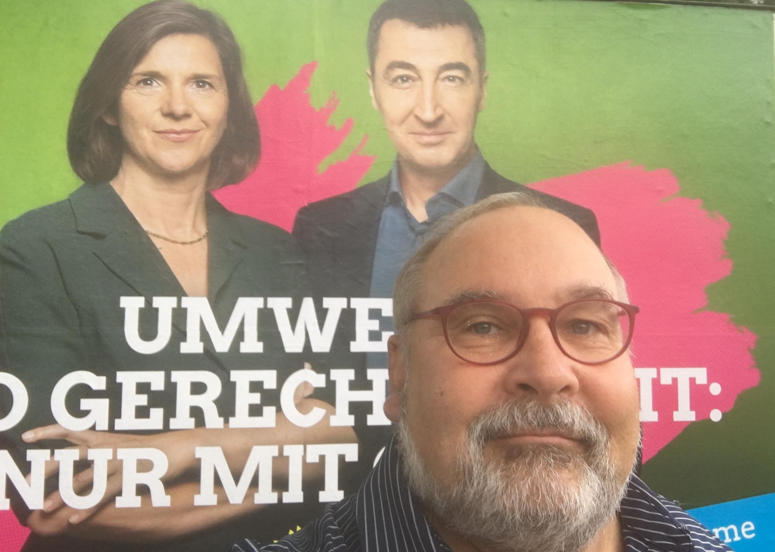 Bild: Katrin Göring-Eckardt, Cem Özdemir und AVA-Chef Ernst-Günther Hellwig